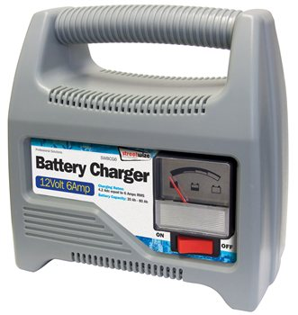 Streetwize 12V 6 Amp Automatic Battery Charger