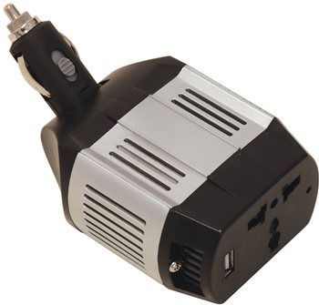 Streetwize 75 Watt Multi Plug Socket Inverter  - Click to view a larger image