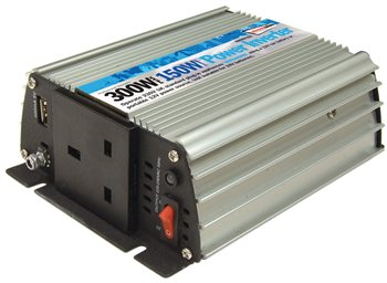 Streetwize 150 Watt and 300 Watt Peak Power Inverter 150 Watt Power Inverter - Click to view a larger image
