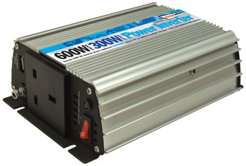 Streetwize 300 Watt and 600 Watt Peak Power Inverter 300 Watt Power Inverter - Click to view a larger image