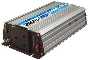 Streetwize 500 Watt and 1000 Watt Peak Power Inverter 500 Watt Power Inverter - Click to view a larger image