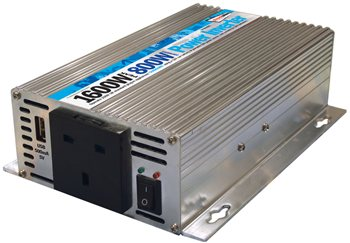 Streetwize 800 Watt and 1600 Watt Peak Power Inverter 800 Watt Power Inverter - Click to view a larger image