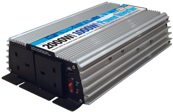 Streetwize 1000 Watt and 2000 Watt Peak Power Inverter 1000 Watt Power Inverter - Click to view a larger image