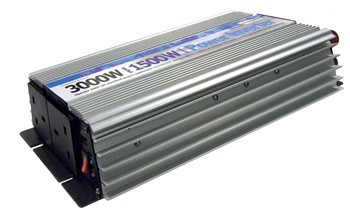 Streetwize 1500 Watt and 3000 Watt Peak Power Inverter 1500 Watt Power Inverter - Click to view a larger image