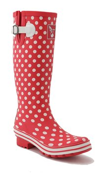 Evercreatures Tall Polka Dot Print Wellies
