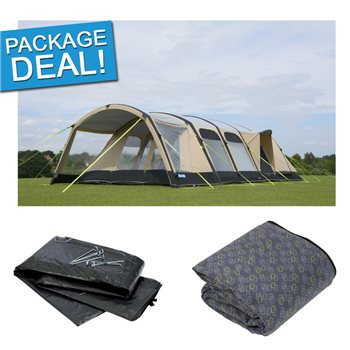 Kampa Studland 8 Classic AIR Pro Tent Package Deal 2017  - Click to view a larger image
