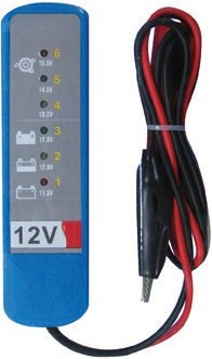 Streetwize LED Battery and Alternator Tester LED Battery and Alternator Tester