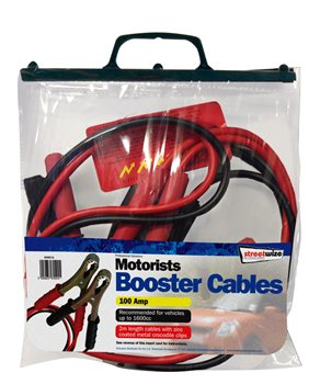 Streetwize 2M Booster Cable 2m Booster Cable - Click to view a larger image