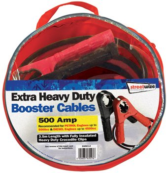 Streetwize 3M Booster Cable 3m Booster Cable - Click to view a larger image