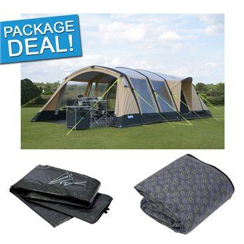 Kampa Croyde 6 Classic Air Pro Tent Package Deal 2017