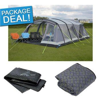 Kampa Croyde 6 Air Pro Tent Package Deal 2017