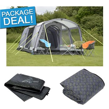 Kampa Hayling 4 Air Pro Tent Package Deal 2017  - Click to view a larger image
