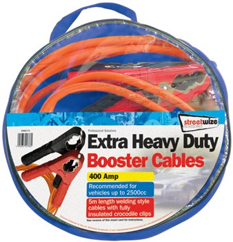 Streetwize - Extra Heavy Duty 5M Booster Cable
