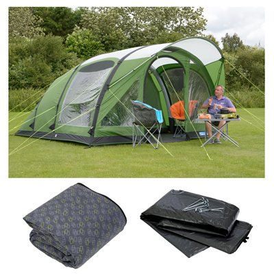 Kampa Brean 5 Air Advantage Package Deal 2019  - Click to view a larger image