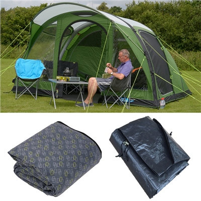 Kampa Brean 4 Air Advantage Package Deal 2019  - Click to view a larger image