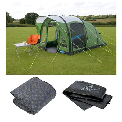 Kampa Brean 3 Air Advantage Package Deal 2018  - Click to view a larger image