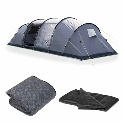 Kampa Watergate 8 Tent Package Deal 2018  - Click to view a larger image