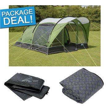 Kampa Brean 5 Tent Package Deal 2017