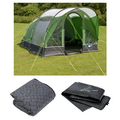 Kampa Brean 4 Tent Package Deal 2019  - Click to view a larger image