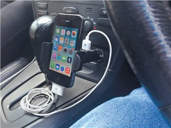 Streetwize Gadget Holder with USB Charging Socket