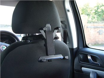 Streetwize Head Rest Mounted iPad & Tablet Holder iPad  Holder Head Rest Mount - Click to view a larger image