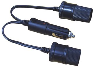 Streetwize 12V Twin Extension Socket