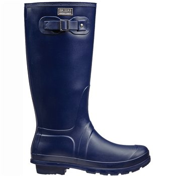 Briers Classic Rubber Look PVC Wellington Boot Navy