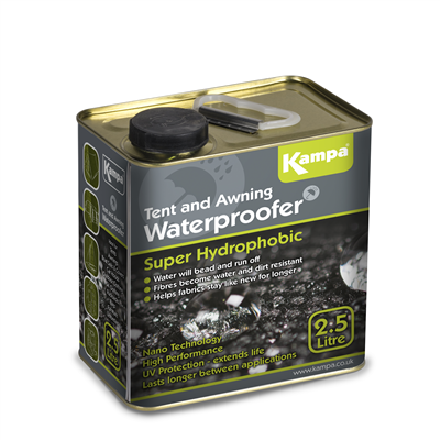 Kampa - Super Hydrophobic Waterproofer Tin