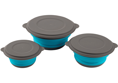 Image of Easy Camp Clearwater Foldable Bowl Set 2017