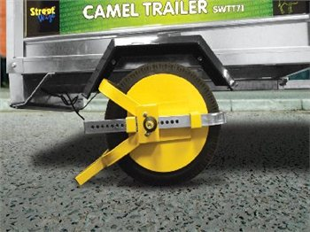 Streetwize Trailer Wheel Clamp  - Click to view a larger image