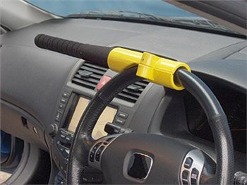 Streetwize Baseball Bat Style Steering Lock  - Click to view a larger image