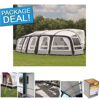 Kampa Frontier Air Pro Caravan Awning Package Deal 2017