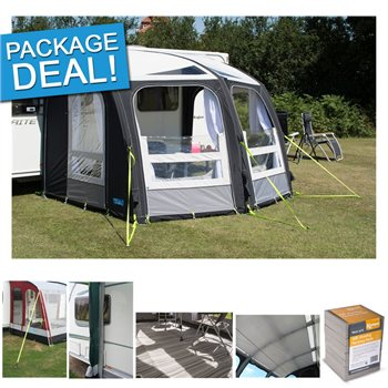 Kampa Kampa Ace Air Pro 300 Caravan Awning Package Deal 2017
