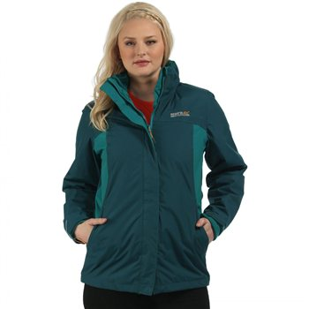 Regatta Preya III 3 in 1 Womens Jacket  Teal