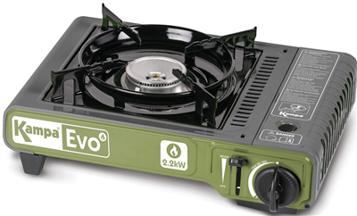 Kampa Evo Portable Gas Stove  - Click to view a larger image