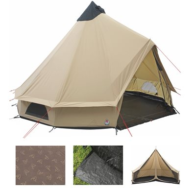 Robens Klondike Tipi Tent Package Deal 2020  - Click to view a larger image