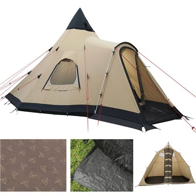 Robens Kiowa Tipi Outback Tent Package Deal 2019  - Click to view a larger image