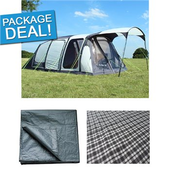 Outdoor Revolution Inspiral 5.2 Air Tent Package Deal 2016  - Click to view a larger image