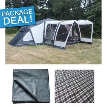 Outdoor Revolution Airedale 12 Air Tent Package Deal 2016  - Click to view a larger image
