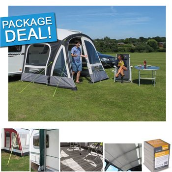 Kampa Fiesta Air Pro 280 Caravan Awning Package Deal 2017