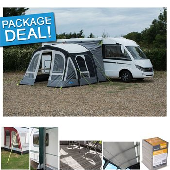 Kampa Motor Fiesta Air Pro 350 Driveway Awning Package Deal 2017  - Click to view a larger image