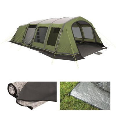 Outwell Corvette 7AC Tent Package Deal 2017  - Click to view a larger image