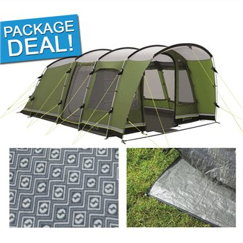 Outwell Flagstaff 5 Tent Package Deal 2017  - Click to view a larger image