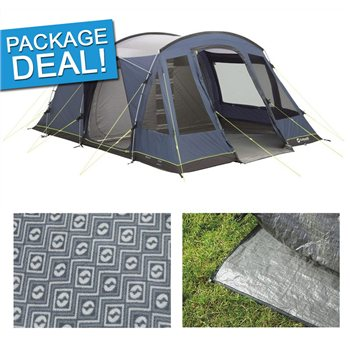 Outwell Oaksdale 5 Tent Package Deal 2017
