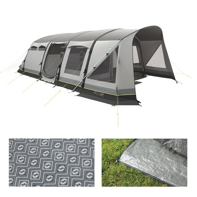 Outwell Harrier 6SATC Air Tent Package Deal 2017  - Click to view a larger image