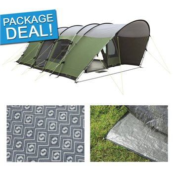 Outwell Bear Lake 6E Tent Package Deal 2017