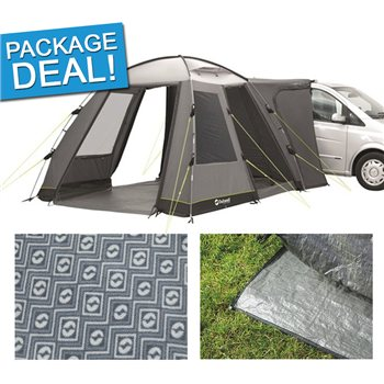 Outwell Daytona Driveaway Awning Package Deal 2017