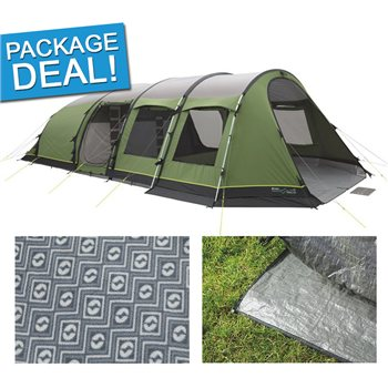 Outwell Phoenix 7ATC Tent Package Deal 2017  - Click to view a larger image