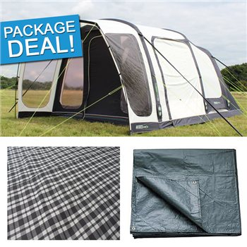 Outdoor Revolution Airedale 5 Air Tent Package Deal 2017  - Click to view a larger image