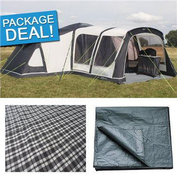 Outdoor Revolution Airedale 12 Air Tent Package Deal 2017  - Click to view a larger image